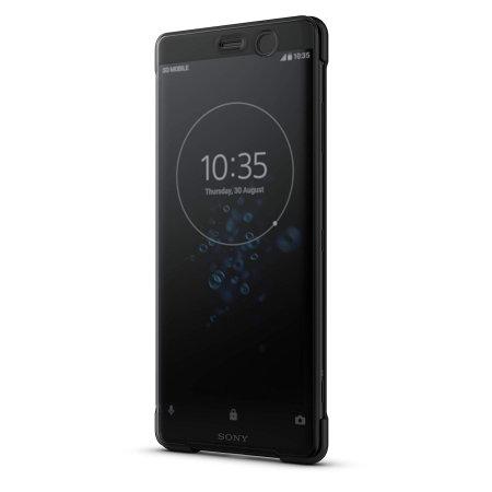Funda Sony Xperia XZ3 Oficial SCTH70 Style Cover Touch - Negra