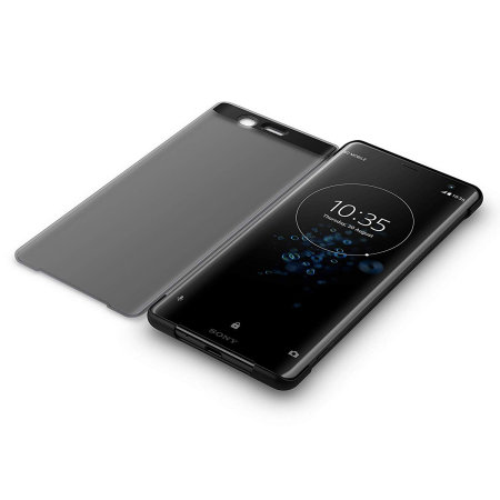 Official Sony Xperia XZ3 SCTH70 Style Cover Touch Case - Black