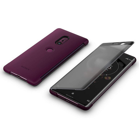 Funda Sony Xperia XZ3 Oficial SCTH70 Style Cover Touch - Roja