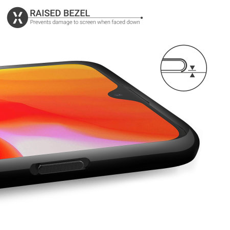 Olixar FlexiShield OnePlus 6T Gel Case - Solid Black