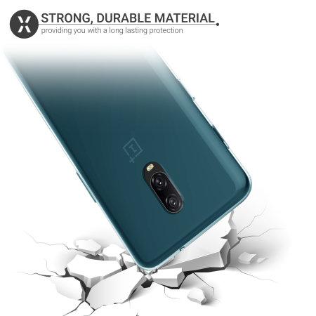 Olixar FlexiShield OnePlus 6T Gel Case - Blue