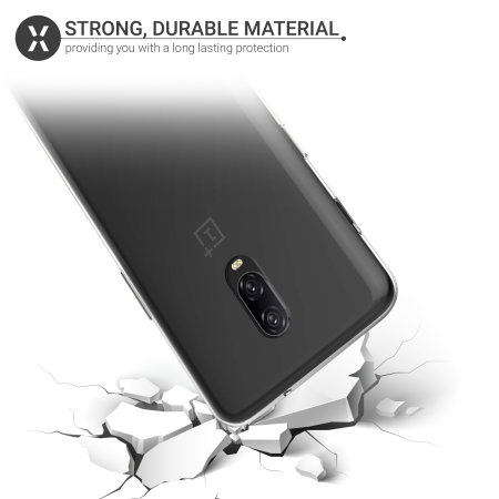 Olixar FlexiShield OnePlus 6T Gel Case - 100% Clear