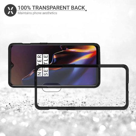Olixar ExoShield Tough Snap-on OnePlus 6T Case - Black