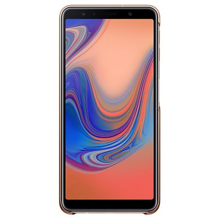 Official Samsung Galaxy A7 2018 Gradation Cover Case - Gold