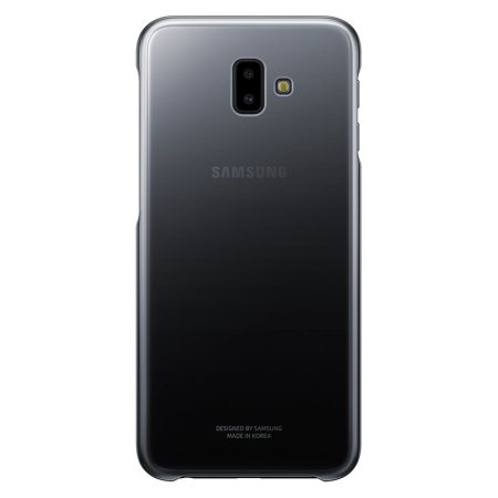 Official Samsung Galaxy J6 Plus Gradation Cover Case - Black