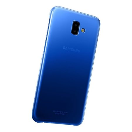 Official Samsung Galaxy J6 Plus Gradation Cover Case - Blue