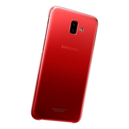 Official Samsung Galaxy J6 Plus Gradation Cover Case - Red