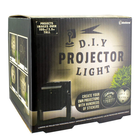 Battery Operated LED DIY Projector Light