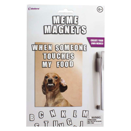 Cool Meme Magnets - 165 Letters Included