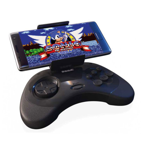 Sega Gaming Controller For Android phones - Built in phone holder