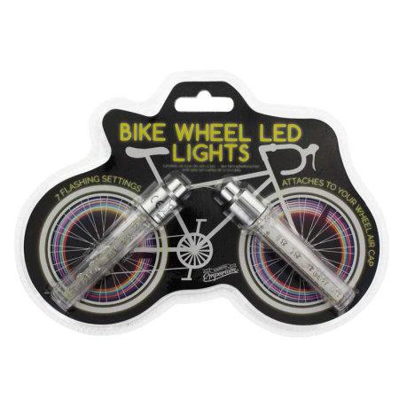 LED Bike Wheel Lights - Multi-Colour - Twin Pack