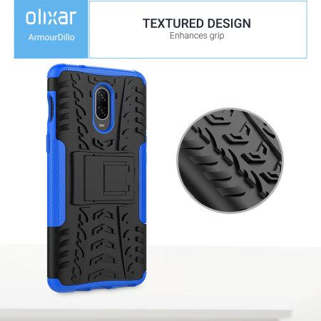 Olixar ArmourDillo OnePlus 6T Case - Blauw