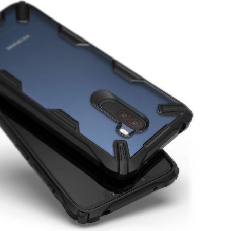 best loved 3fb23 0fff6 Ringke Fusion X Xiaomi Pocophone F1 Tough Case - Black