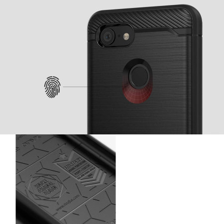 Ringke Onyx Google Pixel 3 Tough Case - Black