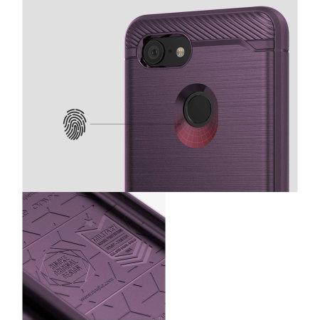 Ringke Onyx Google Pixel 3 XL Tough Case - Lilac Purple