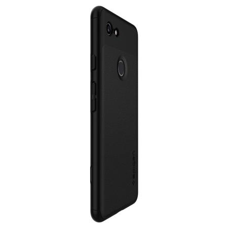 new style d0702 80249 Spigen Thin Fit Google Pixel 3 XL Case and Screen Protector - Black