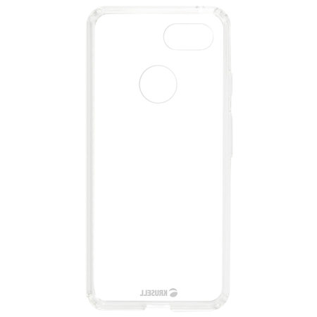 Krusell Kivik Google Pixel 3 Tough Shell Case - 100% Clear