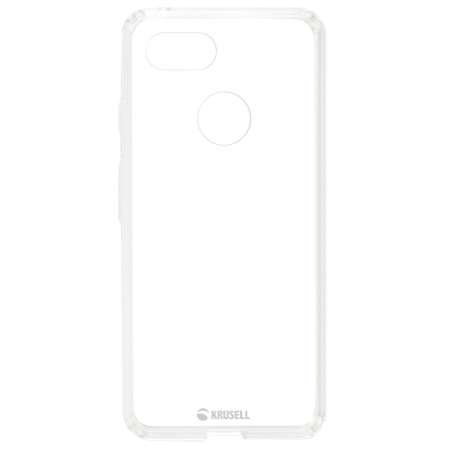 Krusell Kivik Google Pixel 3 XL Tough Shell Cover Case - 100% Clear