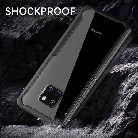 Olixar NovaShield Huawei Mate 20 Pro Bumper Schutzhülle - Schwarz