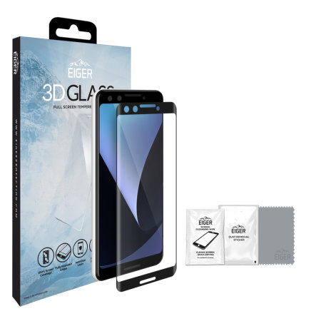 Eiger 3D Glass Google Pixel 3 XL Tempered Glass Screen Protector
