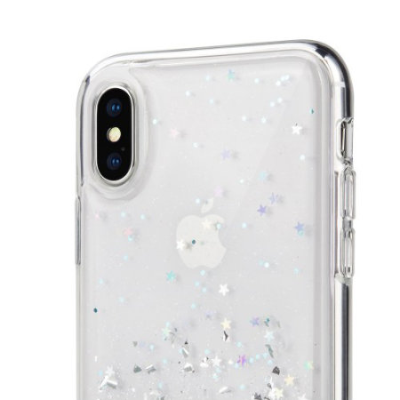 glitter iphone xs case