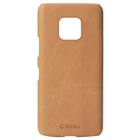 Krusell Sunne Huawei Mate 20 Pro Leather Case - Nude