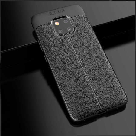 Olixar Attache Huawei Mate 20 Pro Leather-Style Case - Black