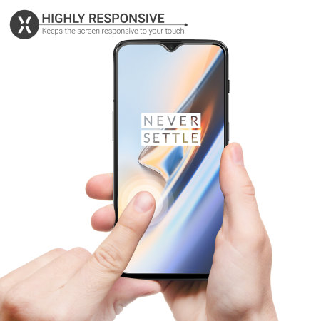 Olixar OnePlus 6T Tempered Glass Screen Protector