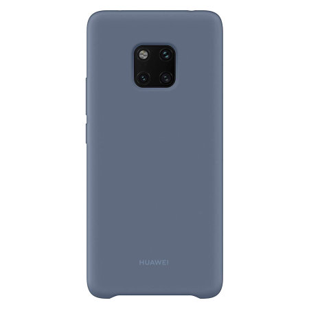 Official Huawei Mate 20 Pro Silicone Case - Blue