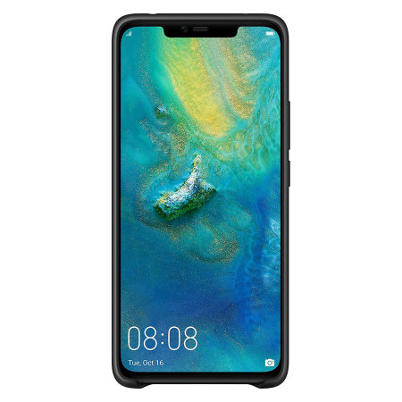 Official Huawei Mate 20 Pro Silicone Case - Black