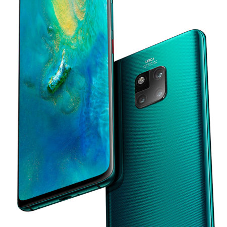 Olixar Huawei Mate 20 Pro Tempered Glass Camera Protector - Twin Pack