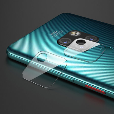 Olixar Huawei Mate 20 Gehard Glas Camerabeschermers - 2 Eenheden
