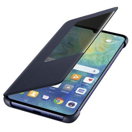 Official Huawei Mate 20 Smart View Flip Case - Blue