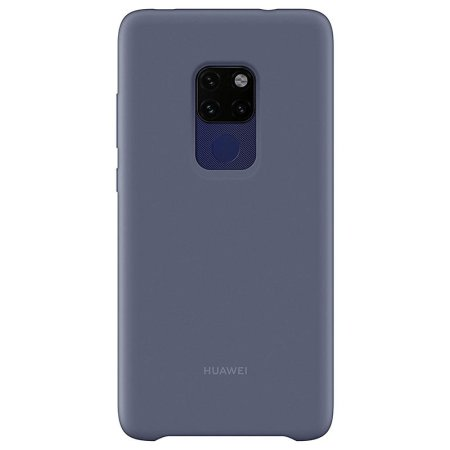 new style 720de 67db2 Official Huawei Mate 20 Silicone Case - Blue