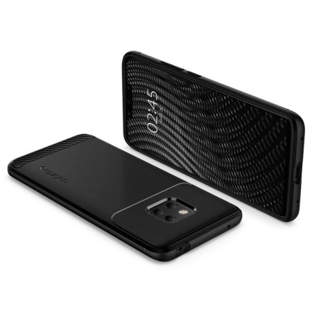 meet b5af8 44ccd Spigen Rugged Armor Huawei Mate 20 Pro Tough Case - Black