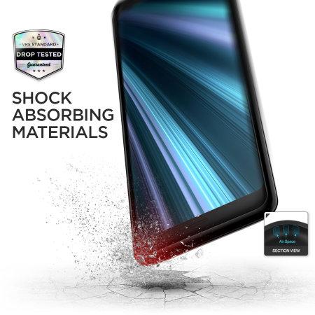 VRS Design Single Fit Label Sony Xperia XZ3 Case - Black