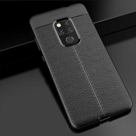 Olixar Attache Huawei Mate 20 Leather-Style Case - Black