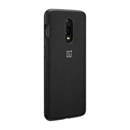 Official OnePlus 6T Bumper Case - Black Nylon