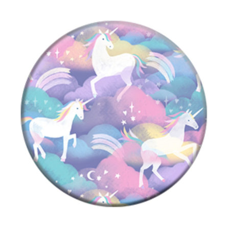 PopSockets Universal Smartphone 2in1 Stand & Grip - Unicorn In The Air