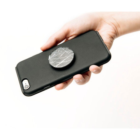 PopSockets Universal Smartphone 2-in-1 Stand & Grip - Black Marble