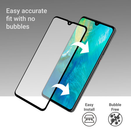 Olixar Huawei Mate 20 X Full Cover Tempered Glass Screen Protector