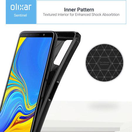 Olixar Sentinel Samsung Galaxy A7 2018 Case & Glass Screen Protector