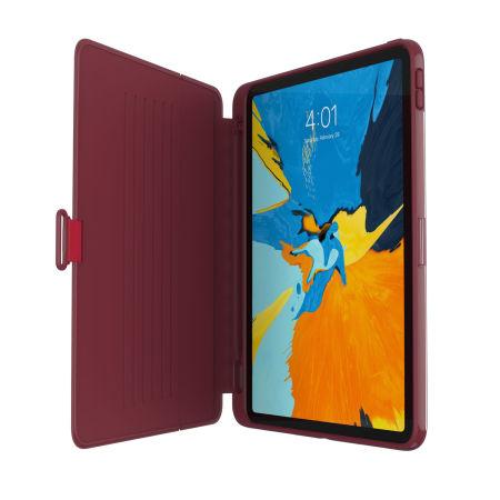 Speck Presidio Pro Folio iPad Pro 11 Case -  Rouge Red/Samba Red