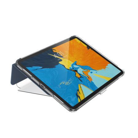 new styles 488a6 1b801 Speck Balance Folio iPad Pro 11 Case - Marine Blue/Clear