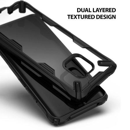 Funda Huawei Mate 20 Pro Rearth Ringke Fusion X - Negra