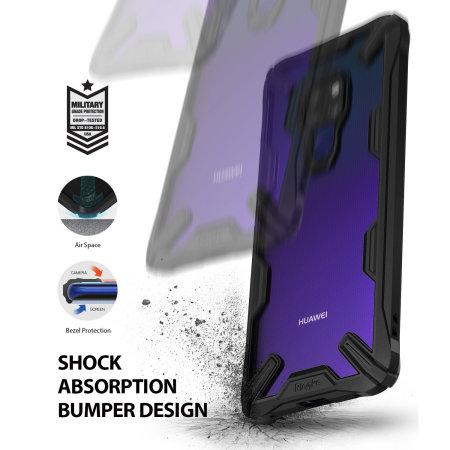 Rearth Ringke Fusion X Huawei Mate 20 Tough Case - Black