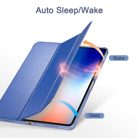 ESR iPad Pro 11 Folding Stand Smart Case - Blue