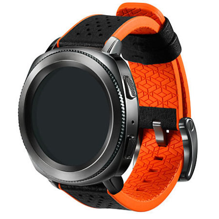 Official Samsung Gear Sport Hybrid Sport Strap - Orange