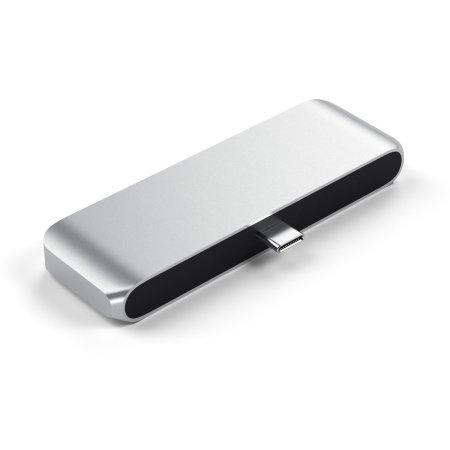 Satechi iPad Pro 2018 USB-C Mobile Pro Multiport Hub - Silver