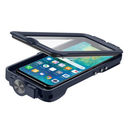 new photos 5037b 50b9c Official Huawei Mate 20 Pro Waterproof Snorkeling Case - Blue